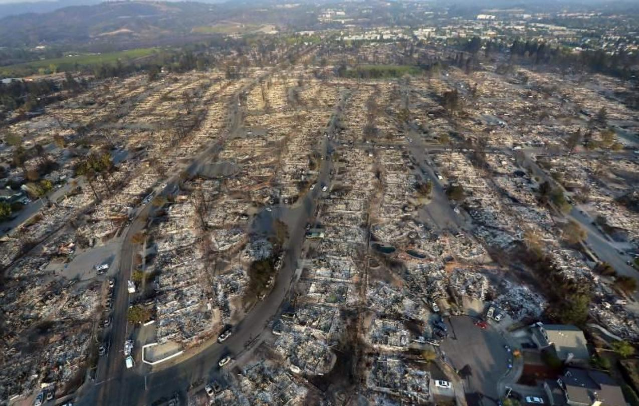 The Northern California fires impacted many of our union brothers and sisters.