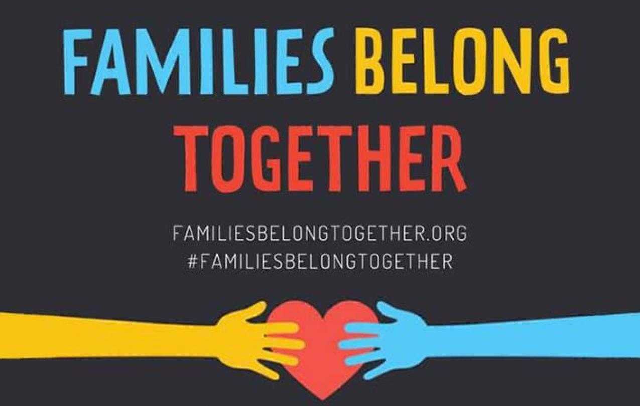 Image result for families belong together