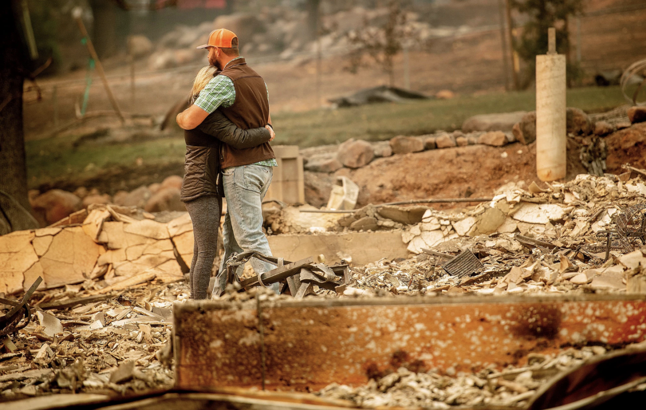 Please help our sisters and brothers rebuild the regions devastated by the fires