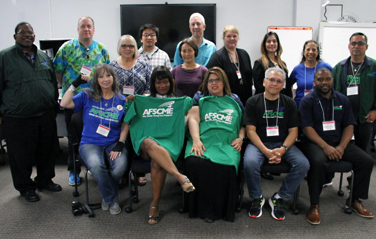 AFSCME Council 57 Executive Board members, 2017-19