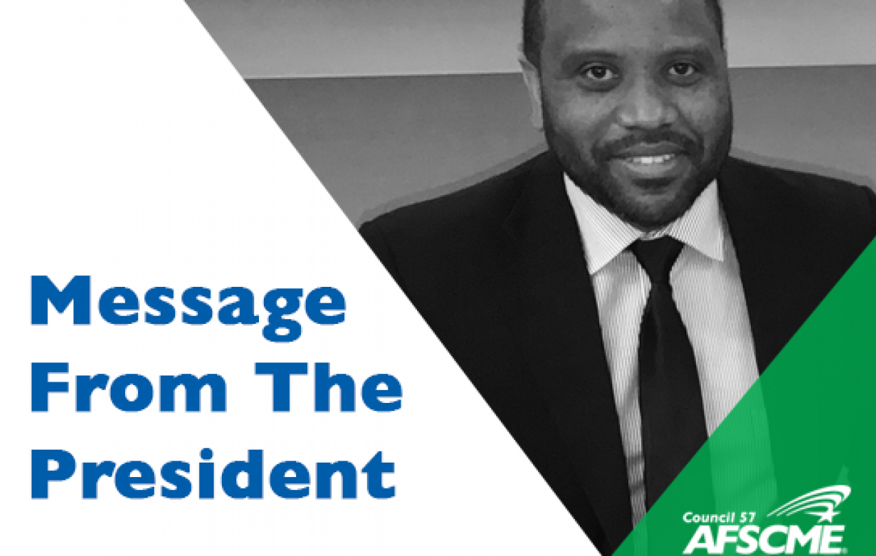 Message from the Council 57 president
