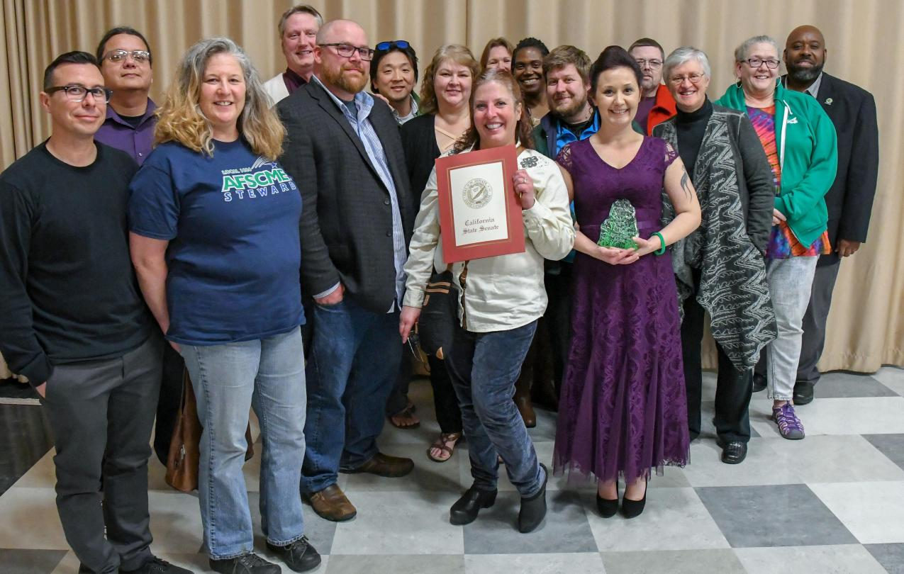 AFSCME Local 1684, Union of the Year for 2018