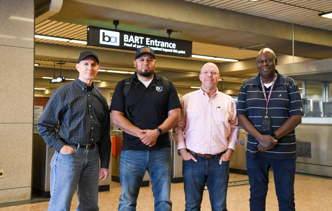 Quality assurance engineers at BART