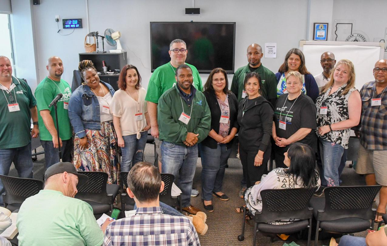 New AFSCME Council 57 Executive Board