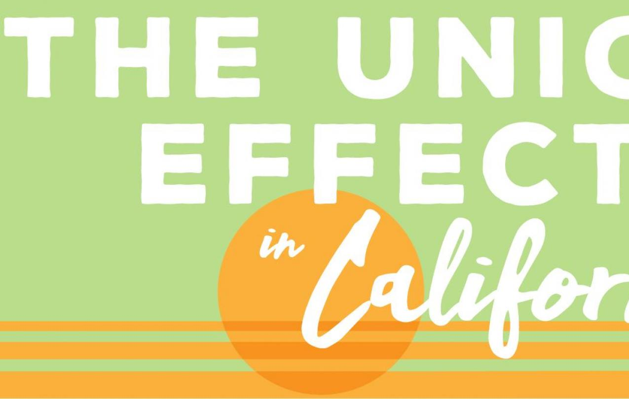 "Graphic from UC Berkeley Labor Center study, ""The Union Effect in California"""