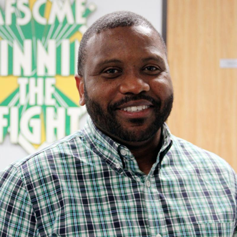Abdul Johnson, AFSCME Council 57 Vice President