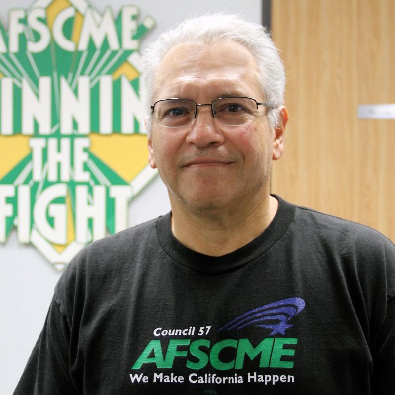 Ruben Rodriguez, AFSCME Council 57 President