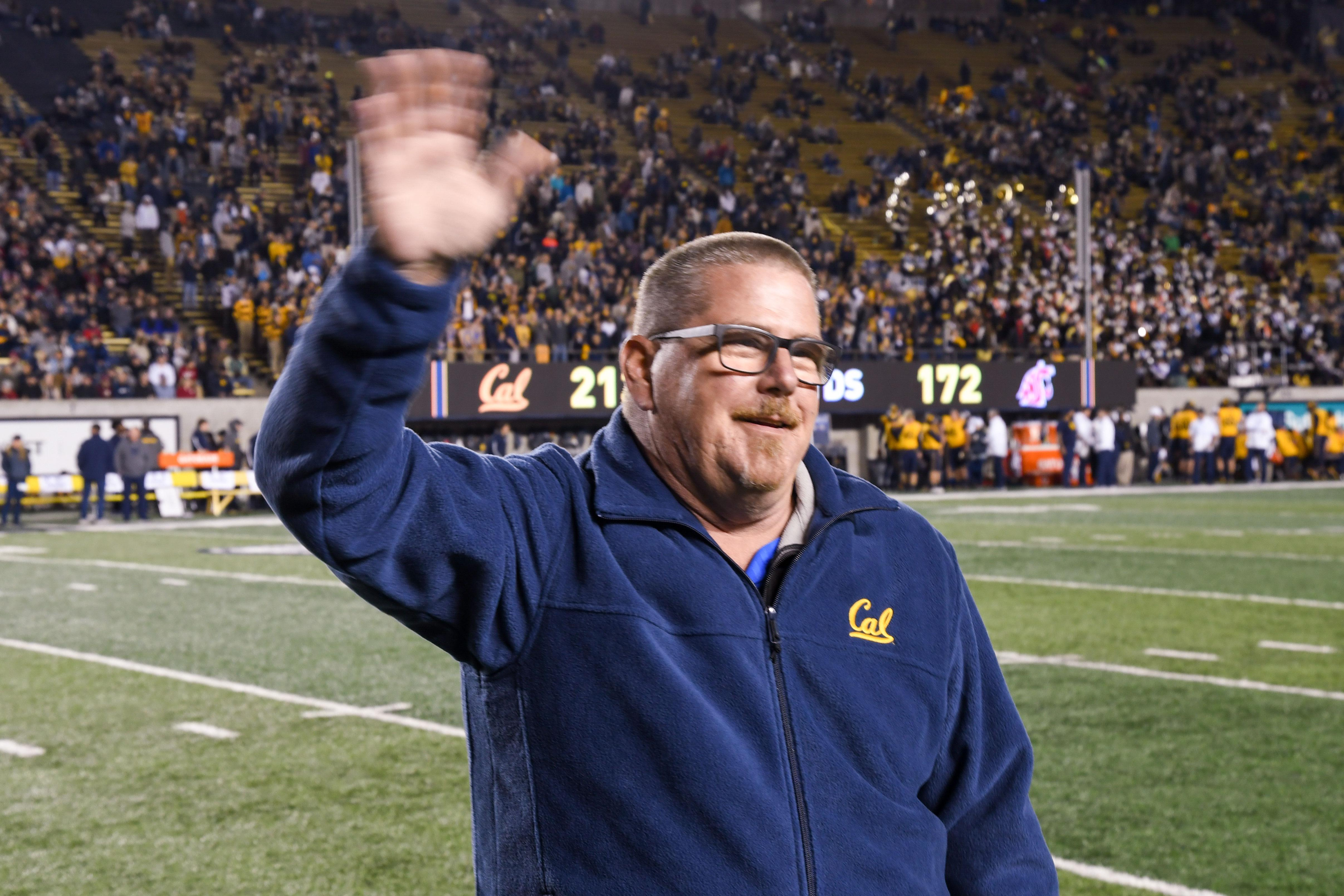 Local 3993 member John O'Connor honored at Cal football game