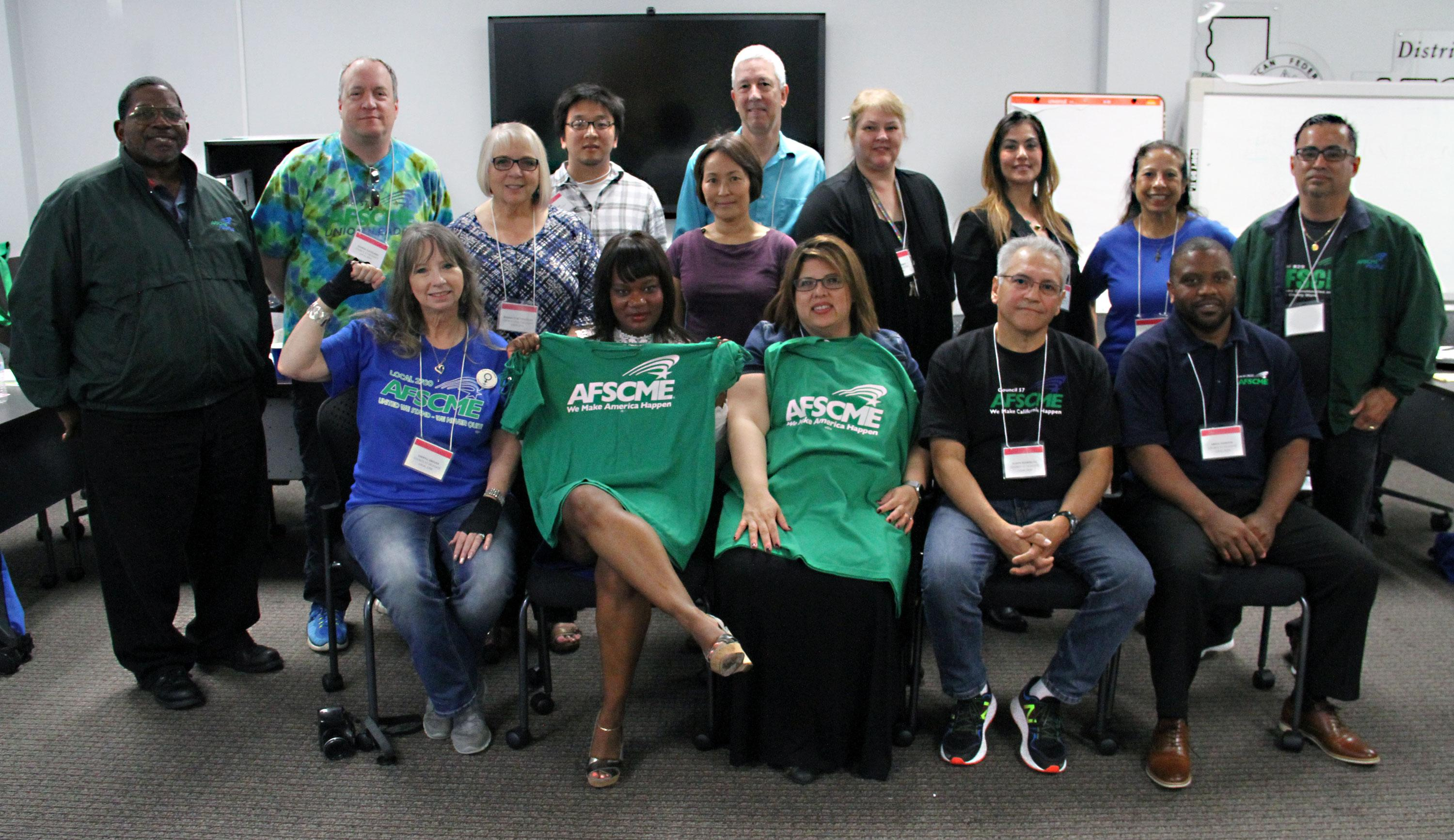 AFSCME Council 57 Executive Board - 2017-2019